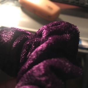 A Purple Velvet Scrunchies